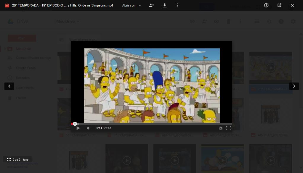 the simpsons google drive mp4